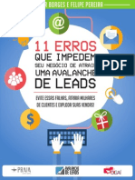 eBook Avalanche de Leads Fagner Borges Felipe Pereira