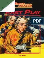 Space Dragon - Livro Básico Fast Play