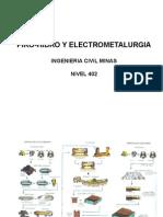 Hidro y Electro Minas Primer Semestre 2013