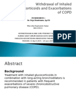 Withdrawal of Inhaled Glucocorticoids and Exacerbations of COPD