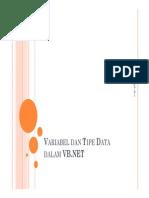 Tipe Data Dalam Vb.net