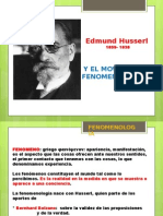FENOMENOLOGIA EXPOSICION