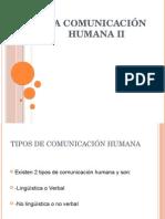 La Comunicación Humana II