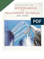 Termodinamica en Ingenieria Quimica
