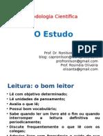- Medico 01 - Metodologia - Prof. Ronilson - 11.10.14 - Tarde