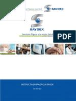 Software Rayen - Urgencia