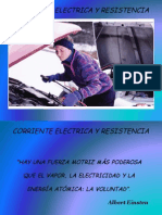 Corriente Electrica y Resistencia