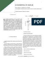 Simulacion del dipolo elemental en matlab