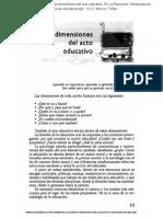 Evaluación del sistema educativo mexicano
