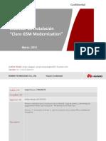 Estandar de Instalacion Claro GSM Modernization V1.1_20150421