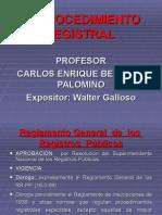 El Procedimiento Registral_2015