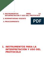 Protocolo Para La Atención y Protección