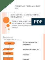 Algoritmo Estructura Selectiva Repetitivas