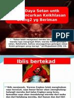 Tipu Daya Setan