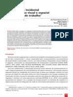 A Integracao Incidental Da Informacao Visual e Espacial Na Memoria de Trabalho