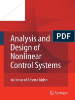 Analysis and Design of Nonlinear Control Systems