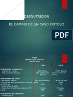 desnutrición en chile