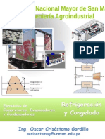 Ejercicios Compresores, Evaporadores y Condensadores