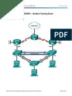 ScaN Skills Assess - EIGRP - Student Trng - Exam