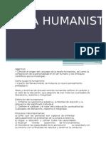 Teoría humanista (resumen)