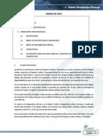 Boletín Climatologico Marzo 2015