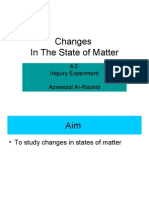 4.2 Experiment Changes in the State of Matter