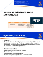 Lixiviación_Tambor Aglomerador
