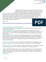 Clasificacion de Los VALORES 2015