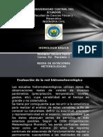 Hidrología - Redes de Estaciones Metereologicas