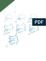 Tutorial de dibujo para lobo