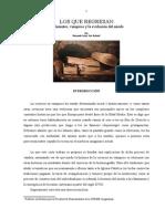 2014-Revinientes, Vampiros y La Evolución Del Miedo
