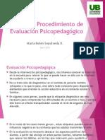 Procedimiento de Evaluación Psicopedagógico.pptx