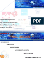 Instituciones de Financiamiento