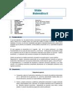 Silabo de Mate II Ing.economia 2015 -I