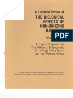 Technical Review of the Biological Effects of Non-Ionizing Electromagnetic Radiation, 1978