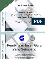 Waj 3114_pembinaan Insan Guru Yang Seimbang_27 Sept 2012