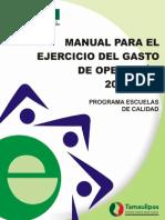 Manual Para El Ejercicio Del Gasto 2014-2015