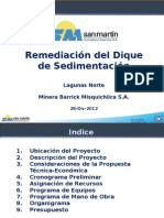 Remediación del Dique de Sedimentación Diseño Final.ppt