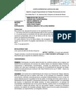 Poder Judicial CITA a Innova Ambiental por DESPIDO DE DIRIGENTE SINDICAL Y MIEMBRO CSST
