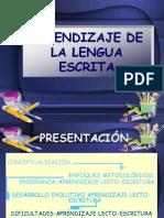 Aprendizaje de la Lengua Escrita