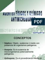 Agentes Físicos y Químicos Antimicrobianos