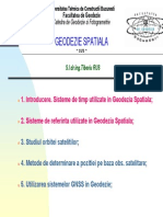 Sisteme de timp in Geodezia Spatiala