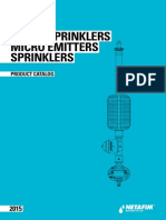 Sprinklers Cataloge 2015
