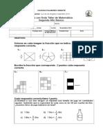 2° básico guia de matematica  con nota