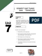 46391192 Unit 7 Konkrit Siap Tuang Dan Teknologi Pasang Siap