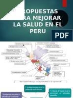 Propuestas para Mejorar la Salud en el Perú