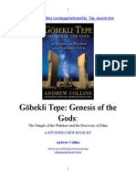 Göbekli Tepe, Génesis of the Gods. Sp. Ed