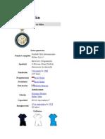 Inter de Milán info