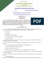 Constituição da República Federativa do Brasil Arts. 1 ao 5