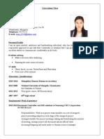 Curriculum Vita Job